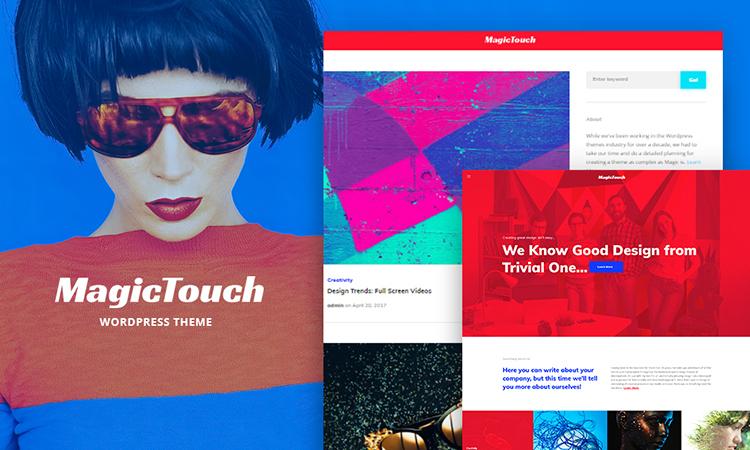 Web Design Company WordPress Theme