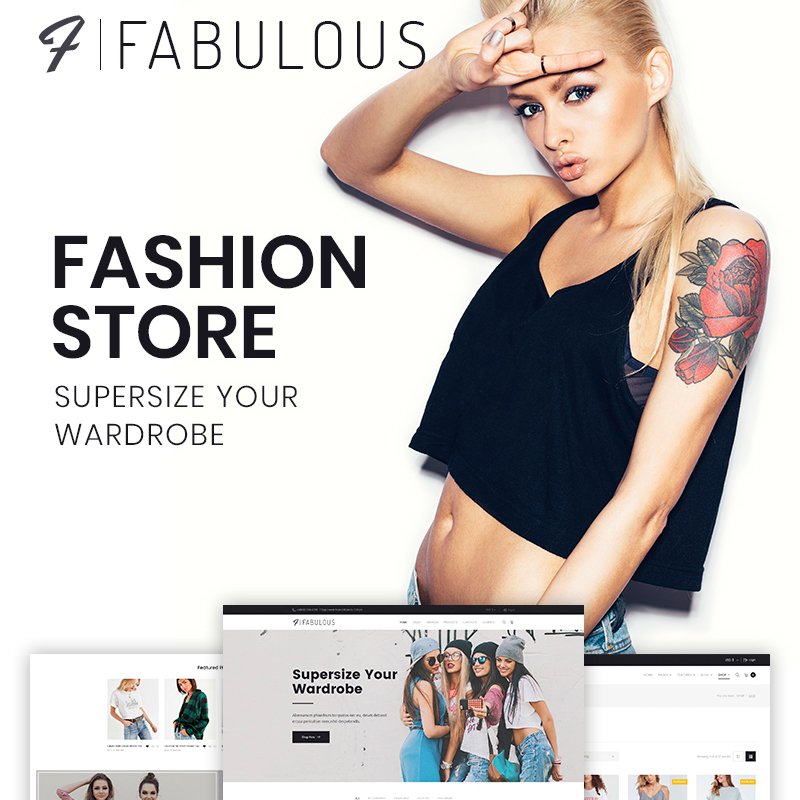 Fabulous - Fashion Store WooCommerce Theme