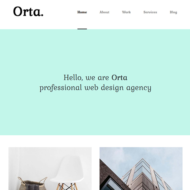 Orta - Photography & Personal Blog WordPress Theme