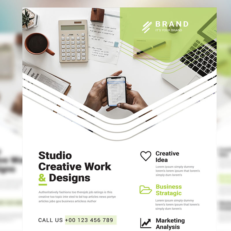 Brand - Best Creative Business Flyer Vol_ 16 Corporate Identity Template