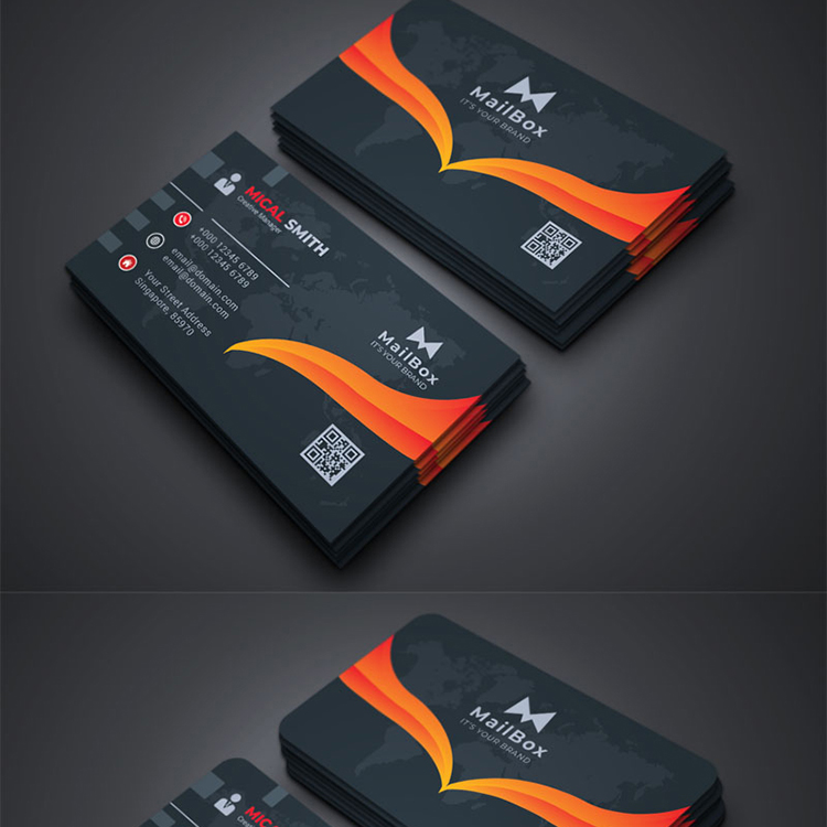 Mailbox - Business Card Vol_5 Corporate Identity Template