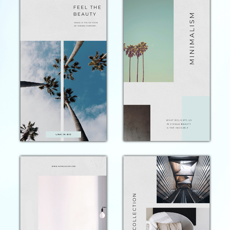 Instagram Minimalism Template Social Media