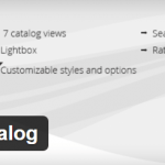 WordPress Catalog WordPress Plugin