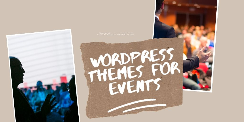 5 WordPress Themes for Events and Conferences