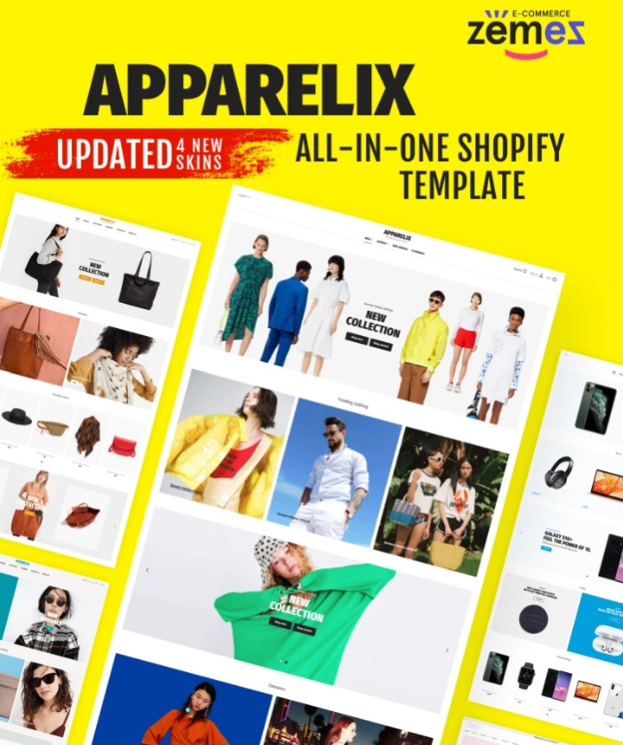 Apparelix is great for e-commerce websites