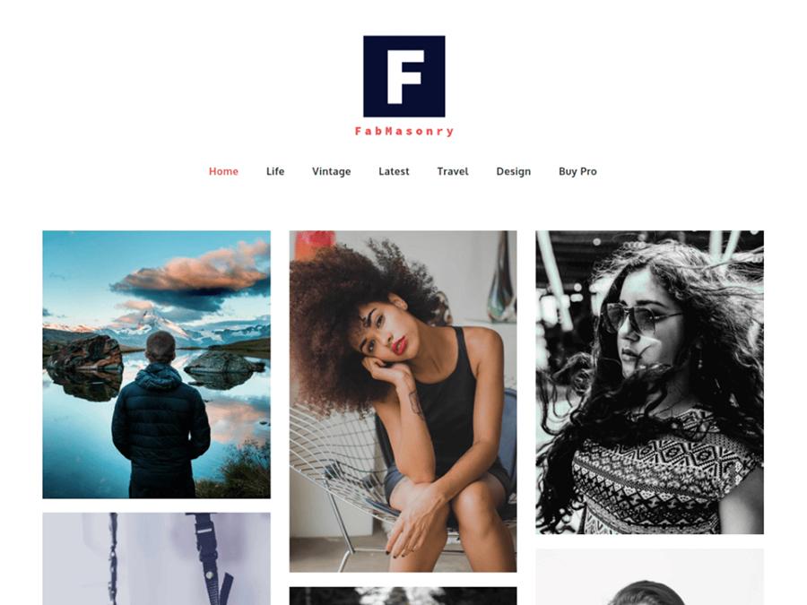 FabMasonry WordPress Theme